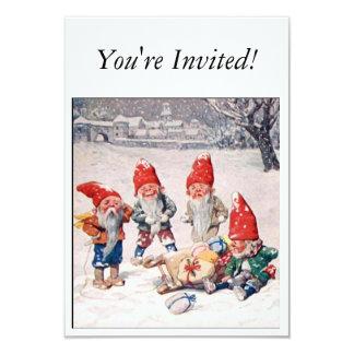 Invitations vintages de Noël