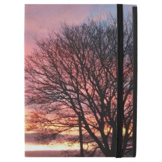 """iPad Pro 12.9"""" Case Cas d'iPad de ciel de rose de coucher du soleil de"""
