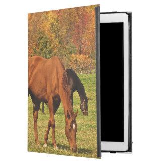 """iPad Pro 12.9"""" Case Chevaux dans cas d'iPad d'automne le pro"""