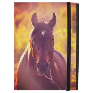 "iPad Pro 12.9"" Case collection de cheval. automne"