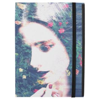 """iPad Pro 12.9"""" Case Été floral d'humeur de roses de beauté romantique"""