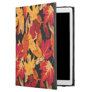 "iPad Pro 12.9"" Case Feuille d'automne dans Brown jaune orange rouge"