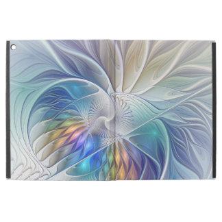 """iPad Pro 12.9"""" Case Imaginaire floral, fleur abstraite colorée de"""