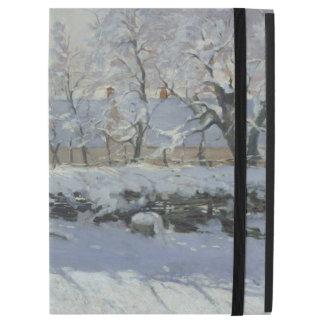 """iPad Pro 12.9"""" Case La pie par des beaux-arts de Claude Monet"""