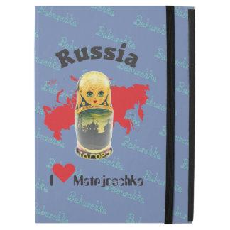 "iPad Pro 12.9"" Case La Russie - Russia Babuschka IPad gaine"