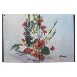 "iPad Pro 12.9"" Case Nature morte de fleurs/Still life of flowers"