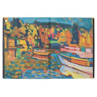 """iPad Pro 12.9"""" Case Paysage d'automne avec des bateaux par Wassily"""