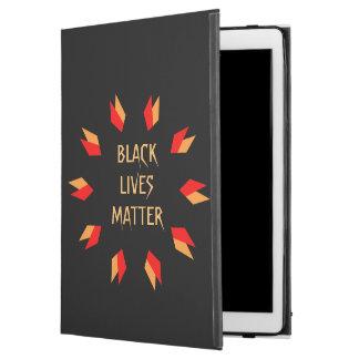 """iPad Pro 12.9"""" Case Pro cas des vies d'iPad noir de matière"""