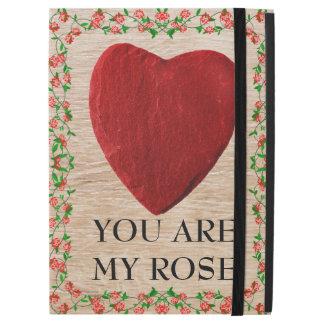 "iPad Pro 12.9"" Case You d'acres my rose"