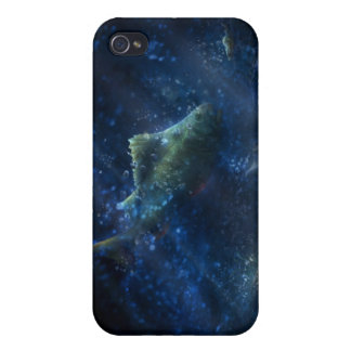 iPhone 4/4S Case Cadeaux drôles sous-marins de la scène |
