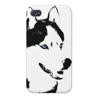 iPhone 4/4S Case Cas enroués de chiot de Malamute de coques iphone