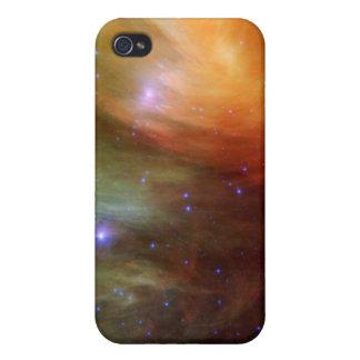 iPhone 4/4S Case Étoiles de Pleiades dans SSC2007 infrarouge 07A