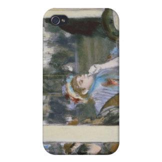 iPhone 4/4S Case Femmes d'Edgar Degas | sur une terrasse de café,