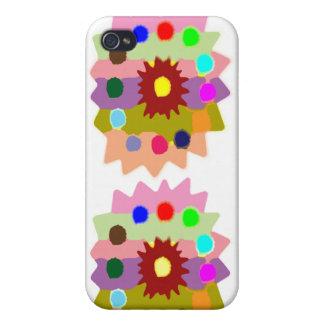 iPhone 4/4S Case Formations joyeuses de tournesol des sableuses n