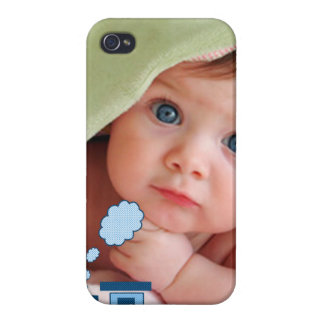 iPhone 4/4S Case Nouveau bébé votre couverture d'iPhone de train de
