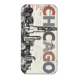 iPhone 4/4S Case Voisinages de Chicago