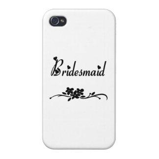 iPhone 4 Case Demoiselle d'honneur classique