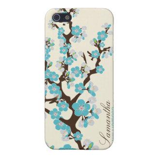 iPhone 4 het Hoesje van het Speck van de Bloesem v iPhone 5 Covers
