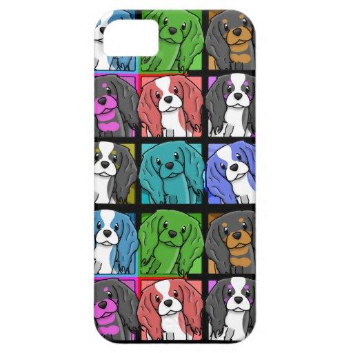 iPhone 5 Cas van Charles Spaniel van de Koning van Case-Mate iPhone 5 Hoesjes