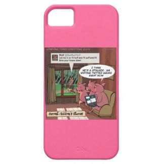 iPhone 5 Case 3 cas intuitif de l'iPhone 5/5S de porcs de petits