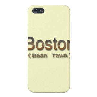 iPhone 5 Case Brn de Boston (ville d'haricot)