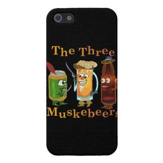 iPhone 5 Case Calembour drôle de bière de trois Muskebeers