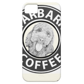 iPhone 5 Case chien Starbucks