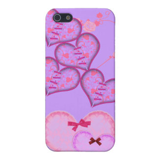 iPhone 5 Case Coeurs