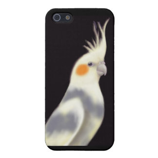 iPhone 5 Case Coque iphone pie amical de perroquet de Cockatiel