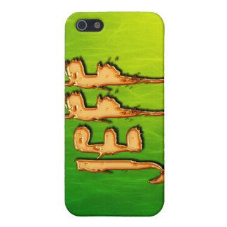 iPhone 5 Case Couverture d'iPhone marquée par nom de JEFF