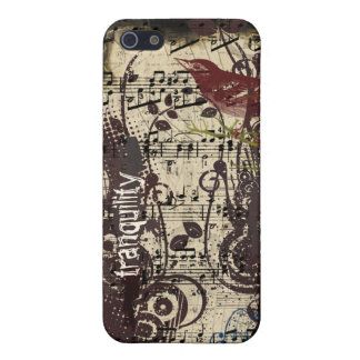 iPhone 5 Case Couverture vintage grunge d'iPhone de remous de