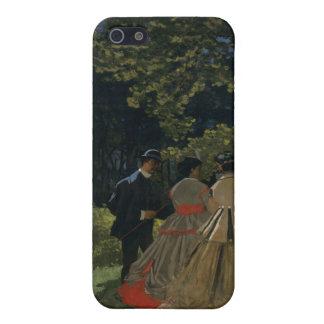 iPhone 5 Case Déjeuner sur l'herbe, panneau gauche (1865)