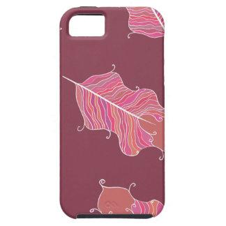 iPhone 5 Case feuille de prune