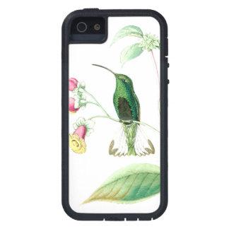 iPhone 5 Case Fleurs d'animaux de faune d'oiseaux de colibri