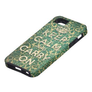 iPhone 5 Case gardez le calme et continuez