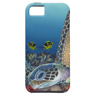 iPhone 5 Case Honu (tortue de mer verte)