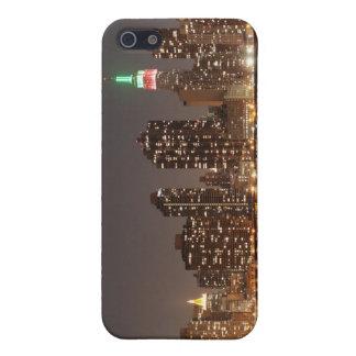 iPhone 5 Case Horizon de Manhattan aux lumières de nuit, NYC
