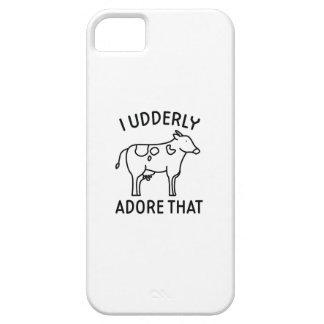 iPhone 5 Case I Udderly adorent cela