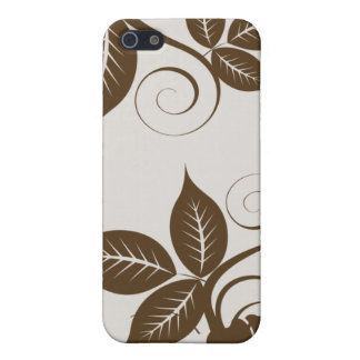 iPhone 5 Case Île de 4 chocolats florale