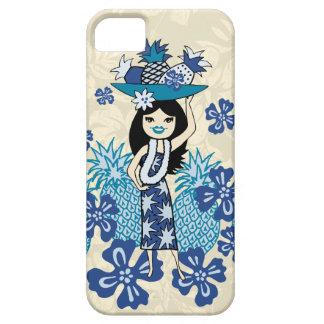 iPhone 5 Case iPhone de fille de danse polynésienne de Luau