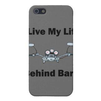iPhone 5 Case Je vis ma vie derrière le cas d'Iphone 4 de barres
