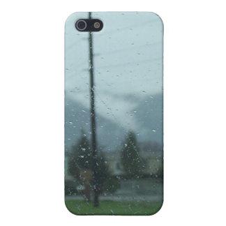 iPhone 5 Case Jour pluvieux de montagne