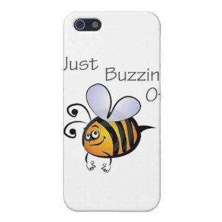 iPhone 5 Case Juste Buzzin outre de noir