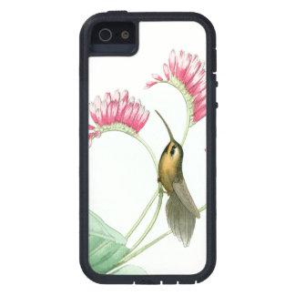 iPhone 5 Case La faune d'oiseaux de colibri fleurit les animaux