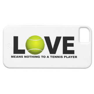iPhone 5 Case L'amour ne signifie rien à un iPhone 5 de joueur