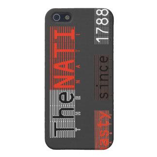 iPhone 5 Case Le cas méchant de l'iPhone 4 de NATI (Cincinnati)