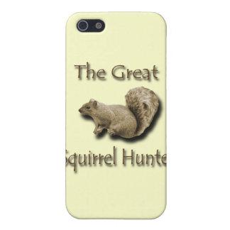 iPhone 5 Case Le grand brun de chasseur d'écureuil