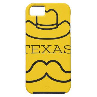 iPhone 5 Case Le Texas en jaune 2