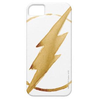 iPhone 5 Case L'emblème   jaune instantané de coffre