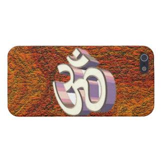 iPhone 5 Case L'OM, symbole religieux indou de namh d'omh de la